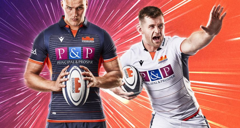 Edinburgh Rugby revela camisetas de rugby 2019/2020