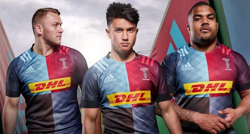 Los Harlequins revelan la camiseta Adidas 2019/20 local