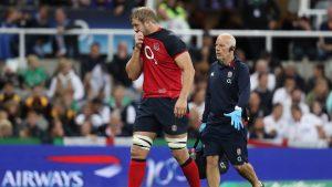 Inglaterra proporciona una actualización sobre el estado físico de Joe Launchbury después del susto del viernes por la noche