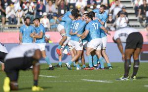 Uruguay logra conmoción masiva con la victoria de la Copa Mundial sobre Fiji