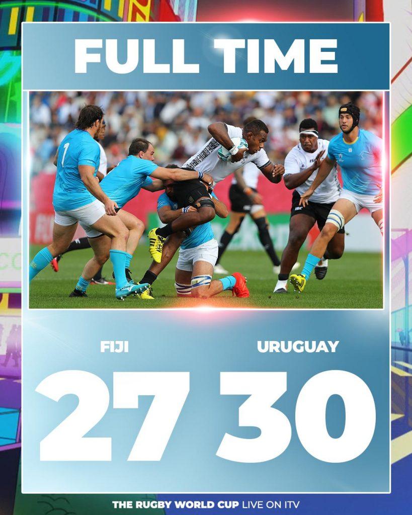 Uruguay VS Fiji RWC 2019