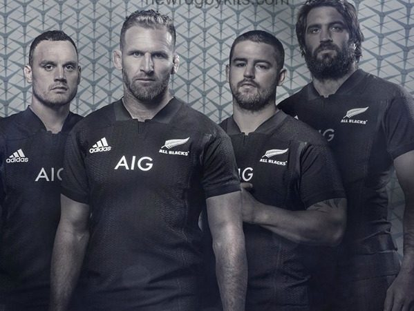 Camiseta All Blacks Sevens Rugby 2018 Adidas