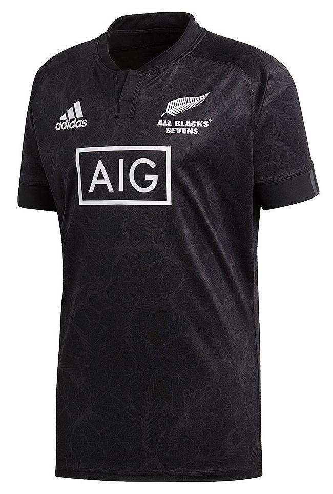 camiseta all blacks sevens 2018