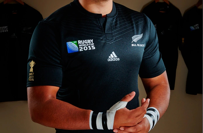 Camiseta All Blacks RWC 2015