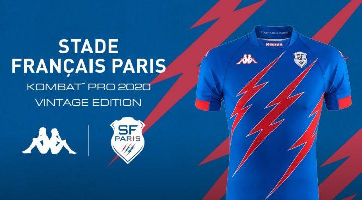 Camiseta Stade Francais 2020