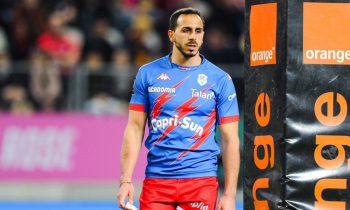 Stade Francais usó esta impresionante camiseta de retroceso para el Clásico contra Toulouse