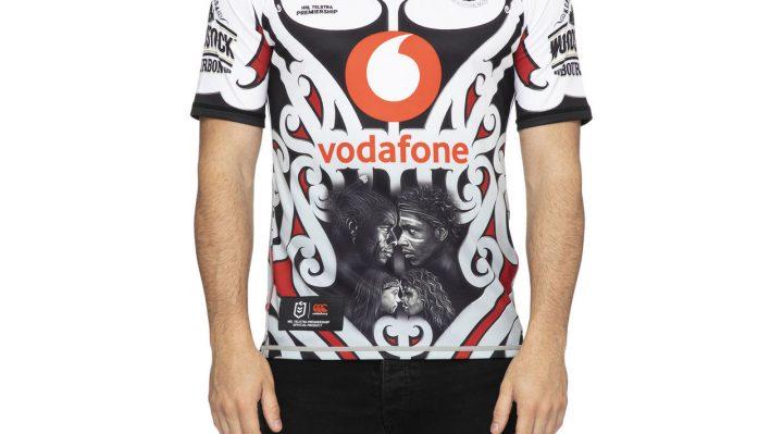 Vodafone Warriors Indigenous 2020