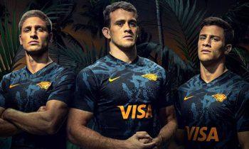 Jaguares presento su nueva camisetas rugby para el 2020