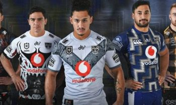 New Zealand Warriors presenta cinco kits para la temporada 2020