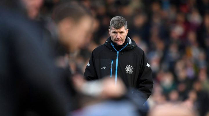 Director de rugby de Exeter Chiefs Rob Baxter