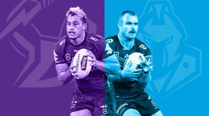 Melbourne Storm v Gold Coast Titans 2020