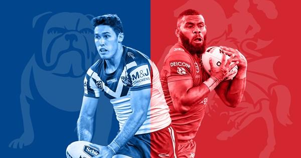 St George Illawarra Dragons v Canterbury Bulldogs 2020