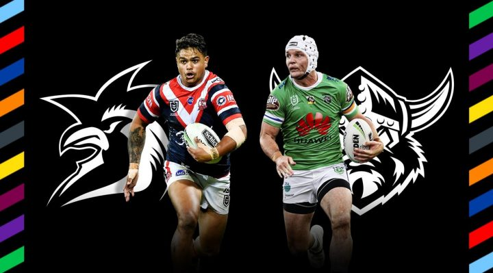 Sydney Roosters v Canberra Raiders 2020