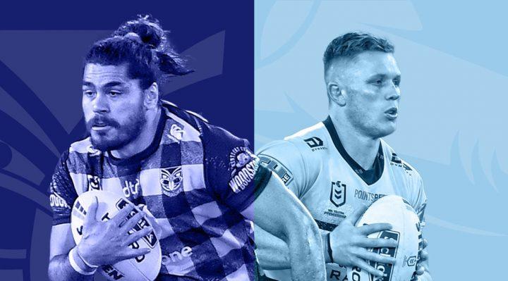 Warriors v Cronulla Sharks en Central Coast 2020
