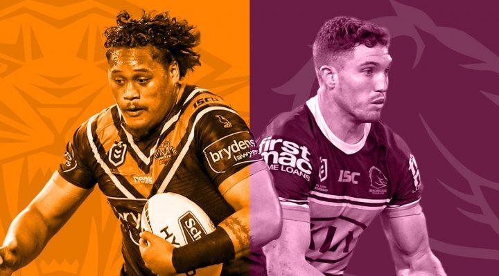Wests Tigers v Brisbane Broncos 2020